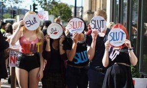 SlutWalk March In London
