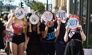 SlutWalk March In London